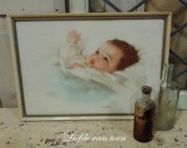Baby lijstje VERKOCHT