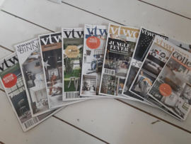 Oude VT wonen tijdschriften