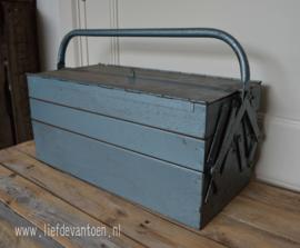 oude gereedschapskist