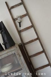 Houten ladder VERKOCHT