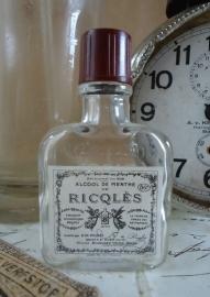 Ricqlès flesje VERKOCHT