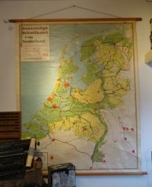 Oude landkaart Nederland VERKOCHT