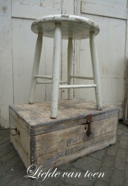 Grote houten kist VERKOCHT