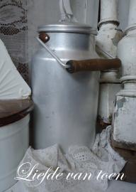 Aluminium melkbus VERKOCHT