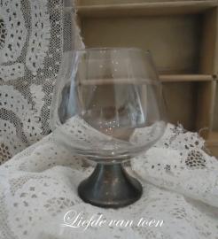 Zilveren cognacglas VERKOCHT