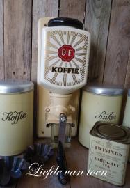 Douwe Egberts koffiemolen VERKOCHT