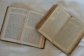 Psalmen gezang boekjes