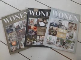 Oude wonen landelijke stijl tijdschriften