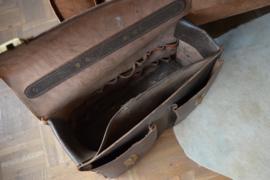 Bruine gereedschapstas