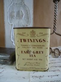 Twinings Tea blikje VERKOCHT