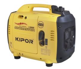 Kipor Sinemaster IG2600 benzine aggregaat