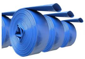 """Klokpompslang (PVC + synt. textiel) 1"""" 25mm (50 meter)"""