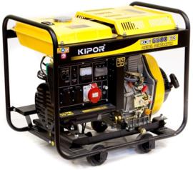 Kipor diesel generator type KDE6500E3