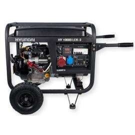 Hyundai HY10000LEK-T3 400V Benzine Generator (elektrische start)
