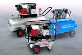 Airpress mobiele zuiger-compressoren met verbrandingsmotor