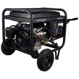 Hyundai HY9000LEK-3 400V Benzine Generator (elektrische start)