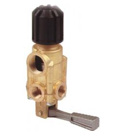 Eurom drukregelaar met bypass en on/off-handle Interpump TIMAX Pressure Regulator - 200 Lpm - 60 Bar