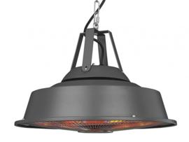 Eurom Eurom | Hangende Terrasverwarming | Elektrisch | Party Tent Heater Sail Grey | 1500W | 14m² | Carbon | 336009