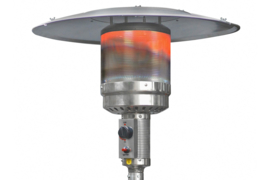Eurom | Staande Terrasverwarming | Gas | THG14000 RVS | 5000 - 14000W | 100m² | 324051