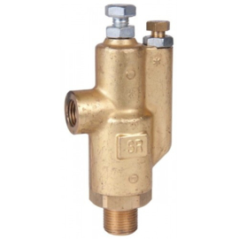 Eurom veiligheidsventiel Interpump SR Safety Relief Valve - 200 Bar - 6-41 Lpm