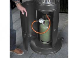 Eurom | Staande Terrasverwarming | Gas | Area Lounge Heater | 13000W | 100m² | 323115