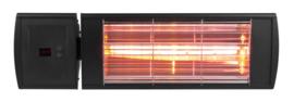 Eurom | Hangende Terrasverwarming | Elektrisch | Goldsun Supra 2000 RC | 2000W | 15m² | Dr.Fischer | Afst. | 334661