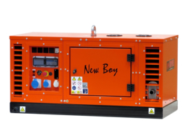 Diesel Aggregaat New Boy EPS103DE Kubota  3000rpm 65dB(A) 8,5 kVA | 230V | SILENT