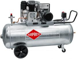 Airpress Compressor GK600-200 (met gegalvaniseerde tank)
