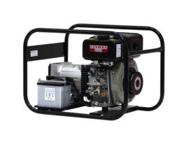 Diesel Aggregaat EP4000DE Yanmar 3000rpm 80dB(A) 3,3 kVA | 230V