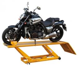 Motorhefbrug (453 kg) Hefbrug/lift/sleutelhulp o.a. Harley Davidson en Honda Goldwing)