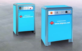 Airpress zuiger-compressoren AP(Z) serie geluidgedempt 10bar