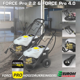 Eurom Force Pro 4.0 hogedrukreiniger