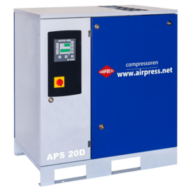 Airpress Schroefcompressor APS 20-D (+ ES3000 energy saver)