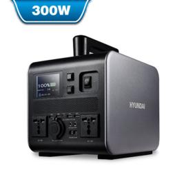 Hyundai Draagbare Li-Ion AC/DC powerstation 300W | HPS-300