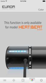 Eurom   Hangende Terrasverwarming   Elektrisch   Heat and Beat Antraciet   2000W   20m²   Golden Amber   Afst. & dimmer   +Bluetooth Speakers   334586