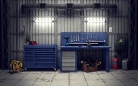 Werkplaatskachels