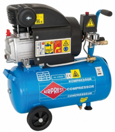 Airpress zuigercompressor HL 310/25 - 230V - 8 bar - hobby