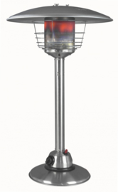 Eurom Table Lounge Heater RVS (op gas)