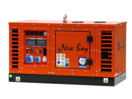 Diesel Aggregaat New Boy EPS73DE Kubota  3000rpm 62dB(A) 5,4 kVA | 230V | SILENT