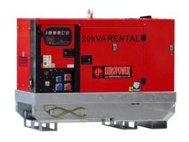 Diesel Aggregaat EPSR20TDE Kubota 1500rpm 60dB(A) 18 kVA | 400V | SUPER SILENT