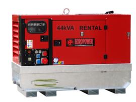 Diesel Aggregaat EPSR44TDE Kubota 1500rpm 66dB(A) 40 kVA | 400V | SUPER SILENT