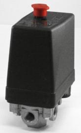 Airpress drukschakelaar met ontlastventiel 1/4 12bar 230/400V