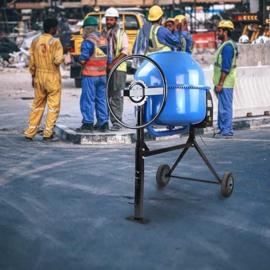 Hyundai Betonmolen 160 Liter 650 W