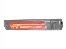 Eurom | Hangende Terrasverwarming | Elektrisch | Golden 2200 Comfort RCD | 2200W | 20m² | Afst. & Dimmer | Golden halogeen | 334524