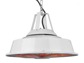 Eurom | Hangende Terrasverwarming | Elektrisch | Party Tent Heater Sail White | 1500W | 14m² | Carbon | 336023