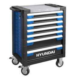 Hyundai 305 dlg Professionele Premium Gereedschapkar RVS-top 7-6