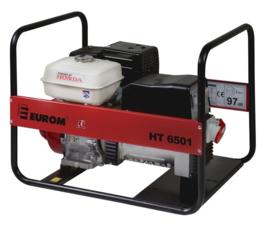 EUROM Benzine aggregaat HT6501 met Honda motor (400V)