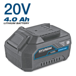 Hyundai 20 V Lithium batterij 4.0 A
