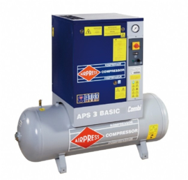 Airpress Schroefcompressor APS 3 Basic Combi