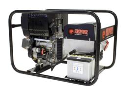 Diesel Aggregaat EP70000TDE Hatz 3000rpm 83dB(A) 6,5 kVA | 400V